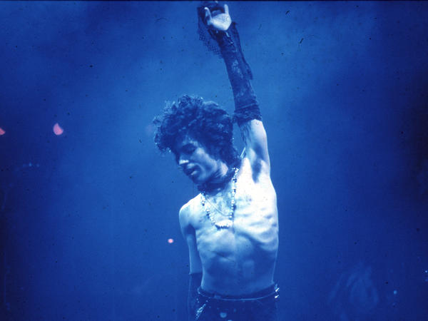 Prince performs live at the Fabulous Forum in Inglewood, Calif., in 1985.