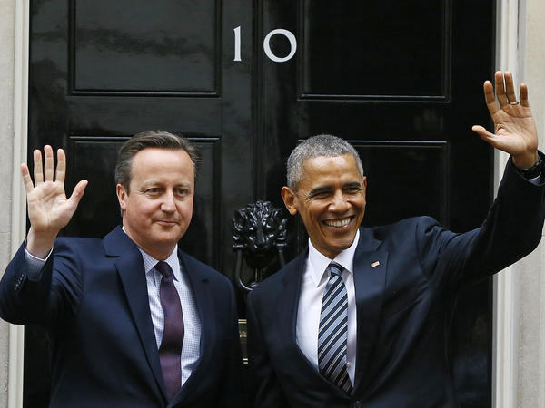 President Obama and Britain's Prime Minister David Cameron in London on Friday.