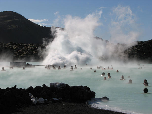 A trip to Iceland wouldn't be complete without a dip in the Blue Lagoon, a man-made geothermal pool on Reykjanes peninsula.