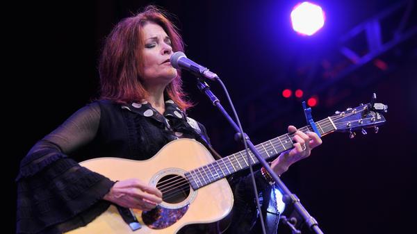 Rosanne Cash made one of Folk Alley's favorite albums of 2014, <em>The River & The Thread</em>.