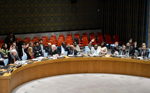 The United Nations Security Council voted in March to condemn the use of chlorine as a weapon in Syria. Members were reduced to tears by a video they were shown of the aftermath of an attack.