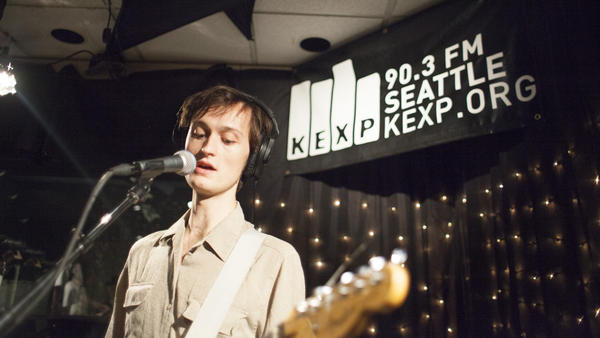 Ought performs live on KCRW.