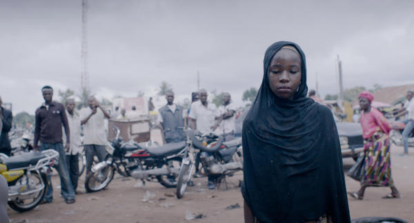 Zubaida Ibrahim Fagge plays Halima, a 13-year-old who suffers from fistula, in the movie <em>Dry</em>.