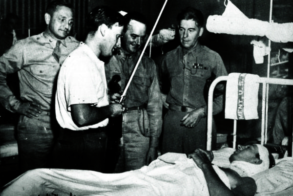 During World War II, Menuhin played hundreds of concerts for allied troops in hospitals and near the front lines.