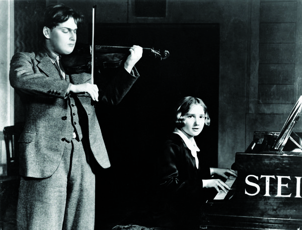 Menuhin's sister Hephzibah, also a prodigy, became the violinist's frequent musical partner onstage and in the recording studio.