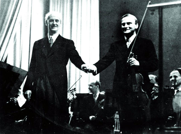 Right after the war, Menuhin shocked his fans and Jewish groups by supporting and performing with famed German conductor Wilhelm Furtwängler, who was accused of having ties to the Nazi regime.