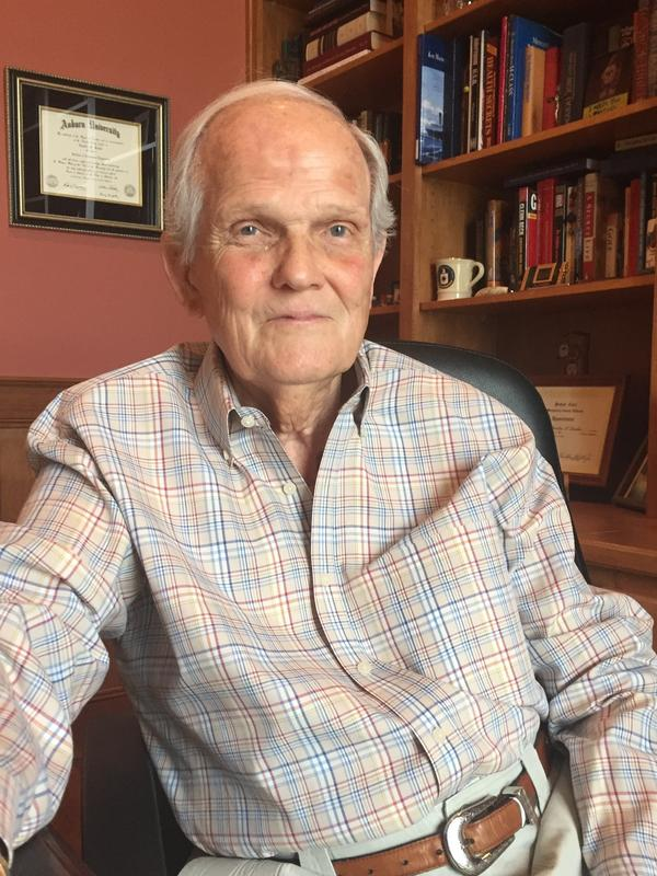 Charlie Snider, one of Gov. Wallace's most trusted political aides, at home in 2016.