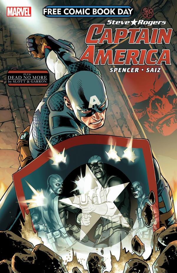 <em>Steve Rogers, Captain America/Amazing Spider-Man</em>