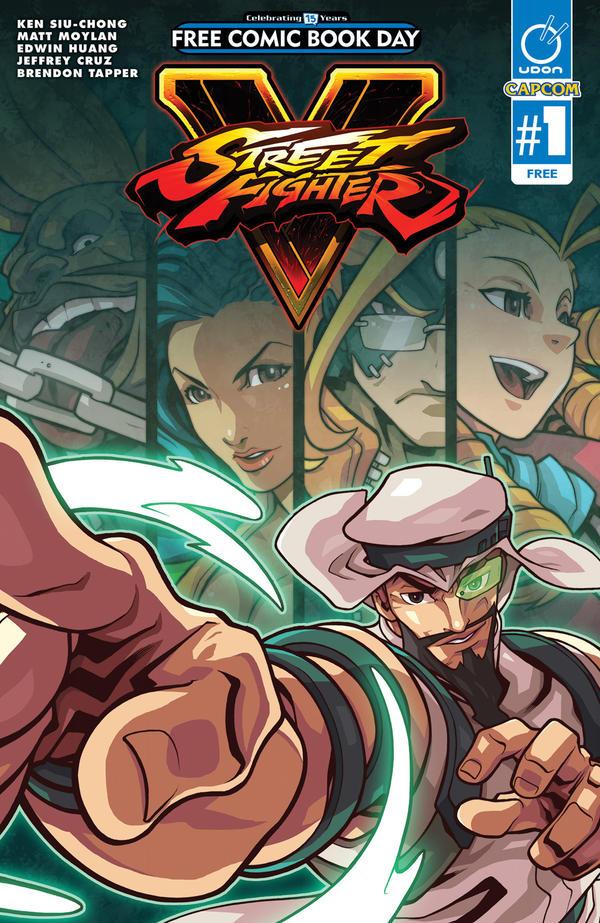 <em>Street Fighter V</em>