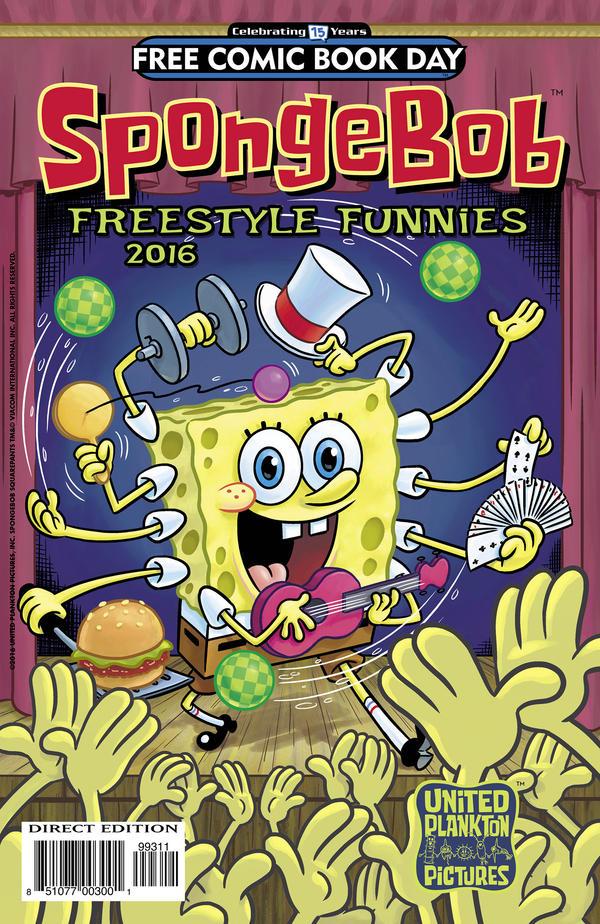 <em>SpongeBob Freestyle Funnies</em>