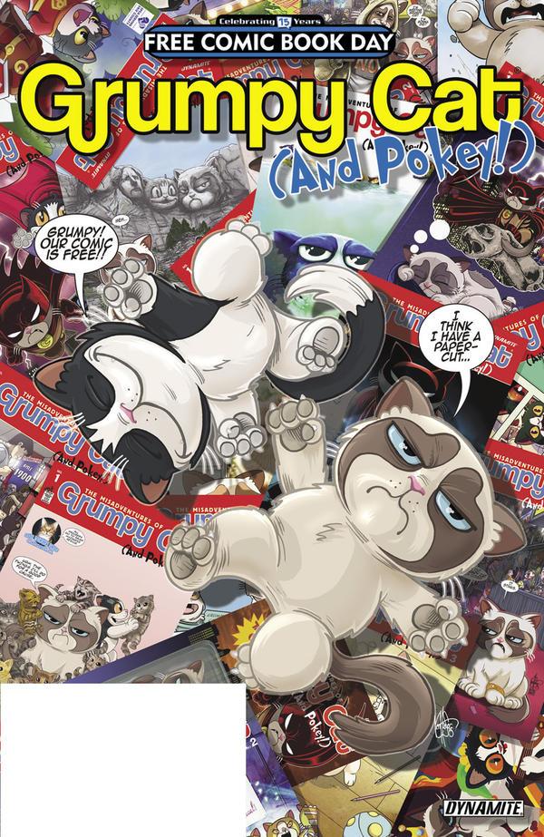 <em>Grumpy Cat (and Pokey!) </em>