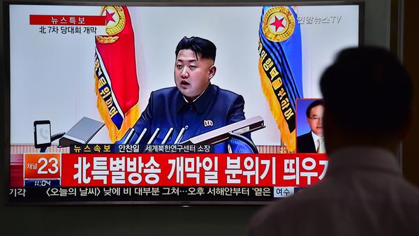 "A man in South Korea watches a news broadcast Friday showing file footage of North Korean leader Kim Jong-Un. Speaking at a major gathering in North Korea, Kim declared ""great success"" in the country's recent nuclear test and a rocket launch."