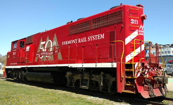 Vermont Railway engine