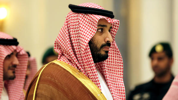 Saudi Arabian Deputy Crown Prince Mohammed bin Salman attends a summit of Arab and Latin American leaders in Riyadh on Nov. 11. Mohammed, who is about 30, is the son of King Salman and a key figure in the changes that have been introduced over the past year.