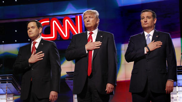 Which of these guys did the GOP establishment think it wanted? Hint: Not the guy in the middle.