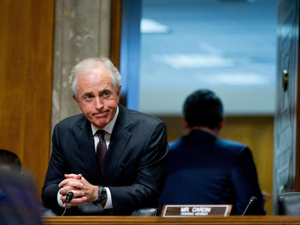 Sen. Bob Corker of Tennessee would bring policy heft and a seriousness to a Trump presidential ticket. Corker is the current chairman of the Senate Foreign Relations Committee.