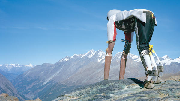 Thomas Thwaites says his exoskeleton was meant to help him <em>feel</em> like a goat, as opposed to helping him look like one.