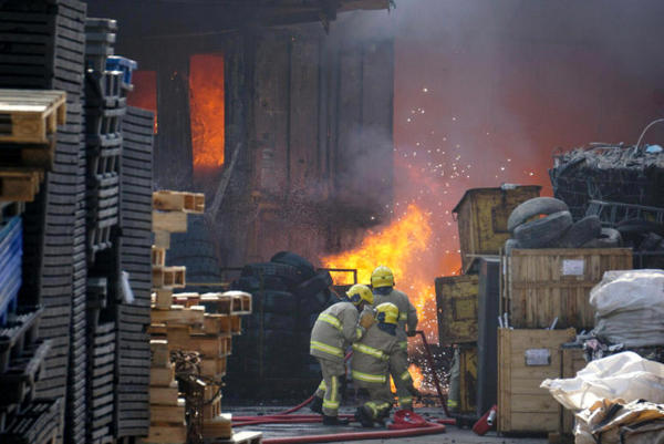 <p>Several fires have broken out at junkyards in the past year, including two incidents in March that emitted plumes of toxic black smoke, according to local news reports.</p>