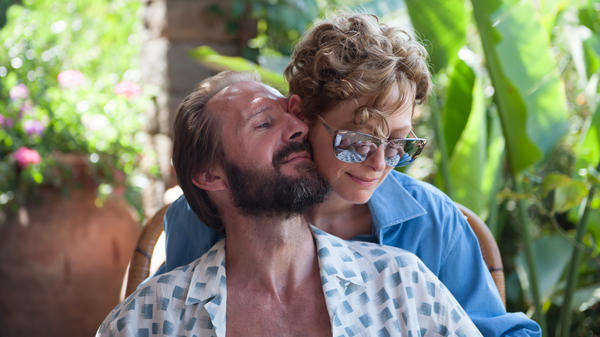 <em>A Bigger Splash</em> features Ralph Fiennes as an old lover whose expected visit interrupts the life of rock star Marianne (played by Tilda Swinton).