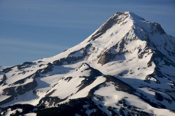 <p>Mount Hood in 2009</p>