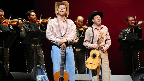 José Martinez's mariachi opera <em>Cruzar La Cara De La Luna</em> premiered at the Houston Grand Opera in 2010.