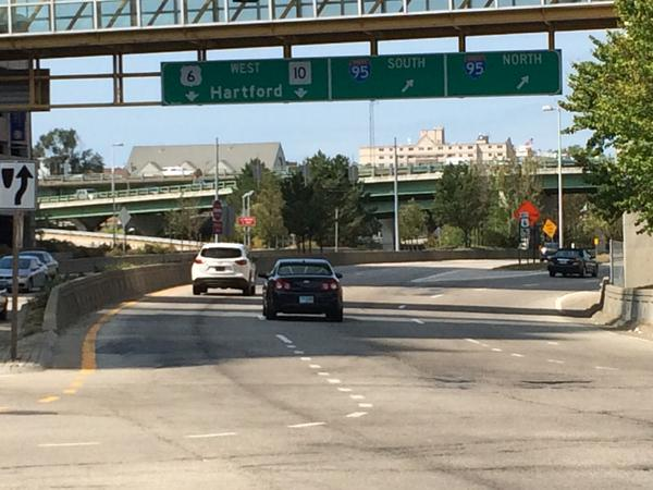 Highway ramps will likely be much busier than this come Memorial Day