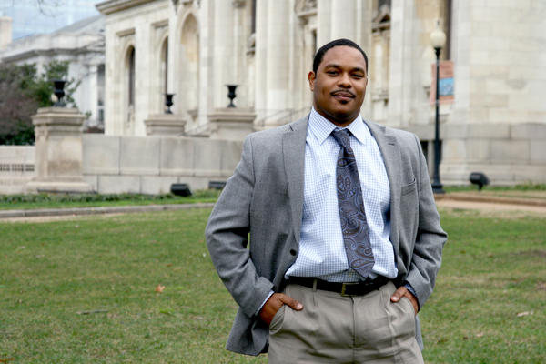 NPR Washington Desk Assistant Editor Brakkton Booker.