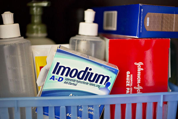 Imodium is a popular brand of the drug loperamide. Because loperamide is increasingly being abused by opioid users, some toxicologists think it should have the same sales restrictions as pseudoephedrine.