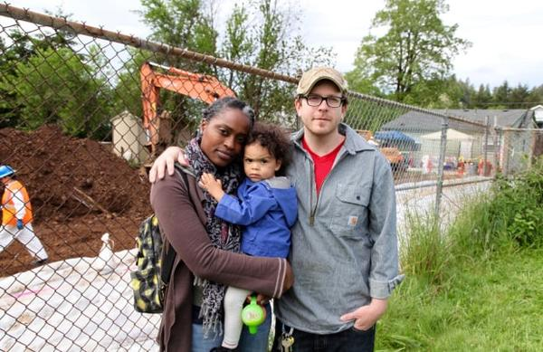 <p>Naimah Shaheed and Craig McIntosh vacated their home while the Environmental Protection Agency oversaw the removal of more than 400 tons of lead-contaminated soil from their backyard.</p>