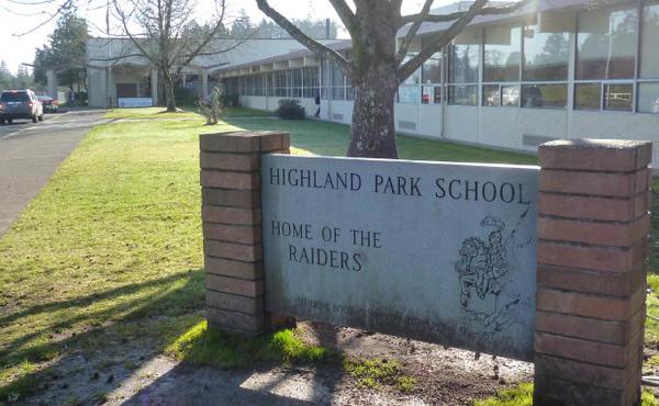 <p>Highland Park Middle School, Beaverton, Oregon.</p>