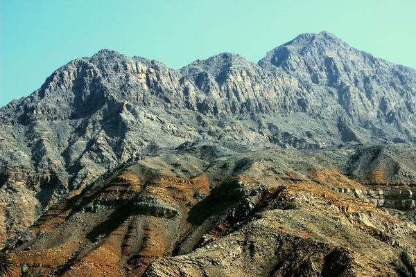 Mountains at Sha'am, in the United Arab Emirates. (Flickr creative commons, @gordontour)