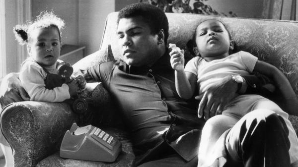 Fans and family are mourning boxer Muhammad Ali, who died at age 74. He's seen here in 1978 with his daughters Laila (9 months) and Hanna (2 years).