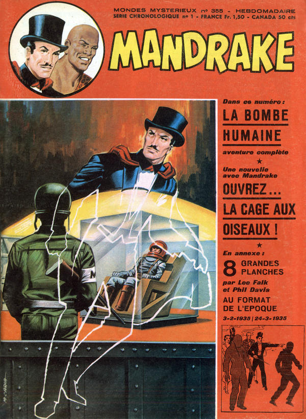 A cover of the comic strip <em>Mandrake the Magician</em> from 1972.