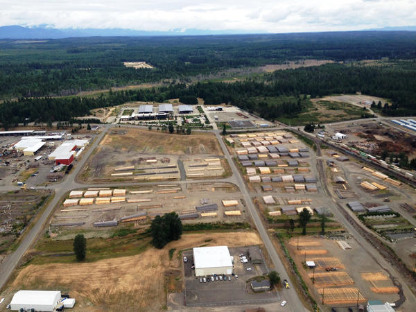 In the event of a Cascadia subduction zone earthquake and coastal tsunami, Shelton, Washington, could become a key inland supply and operations hub.