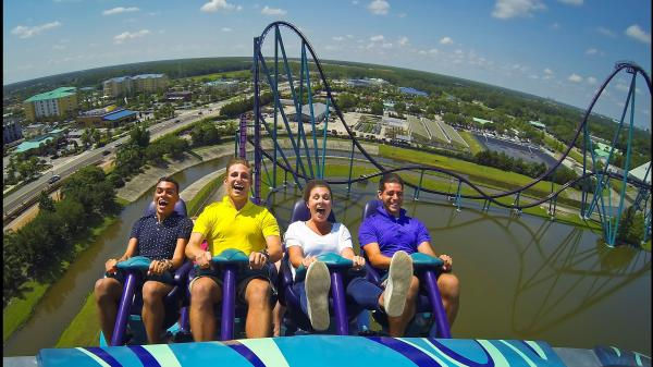 SeaWorld's new Mako is a hypercoaster, a type of coaster which is built to lift riders from their seats.