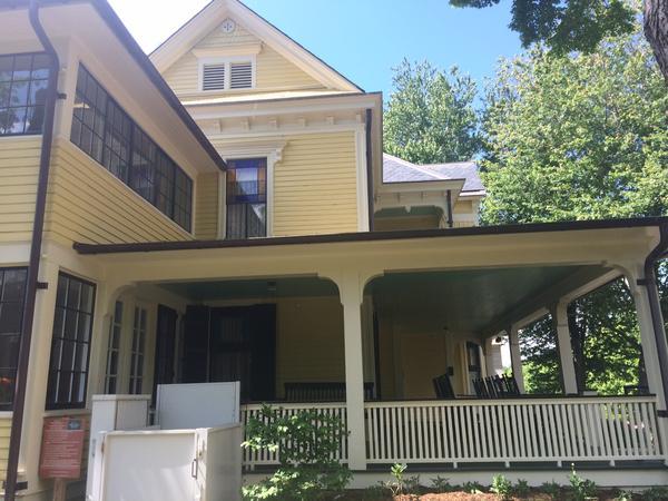 Thomas Wolfe's boyhood home.