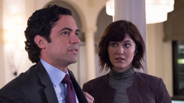 On the CBS series <em>BrainDead,</em> Laurel Healy (Mary Elizabeth Winstead) returns home to Washington, D.C., to work for her brother, Sen. Luke Healy (Danny Pino), only to find herself embroiled in two huge problems: The government has stopped working due to budgetary disagreements, and mysterious bugs are eating the brains of a growing number of Congress members and Hill staffers.