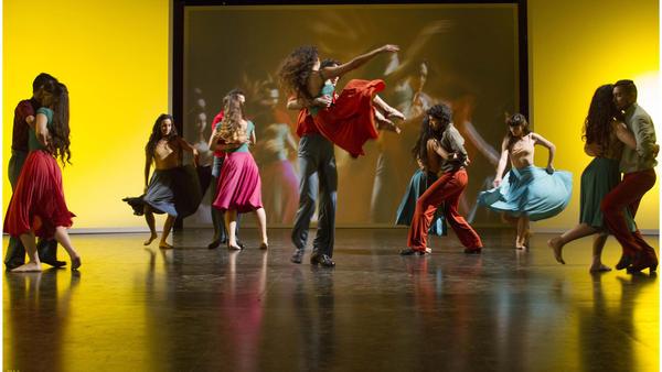 El Ballet de Koki y Parajin Saavedra as performed in Carlos Saura's documentary <em>Argentina. </em>