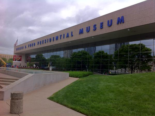 The Gerald R. Ford Presidential Museum in Grand Rapids, Mich.