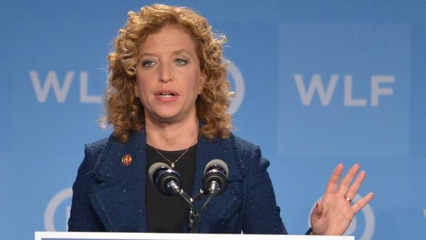Democratic National Committee Chairwoman Debbie Wasserman Schultz said the DNC is working to secure its network as quickly as possible. She's shown here in 2014.
