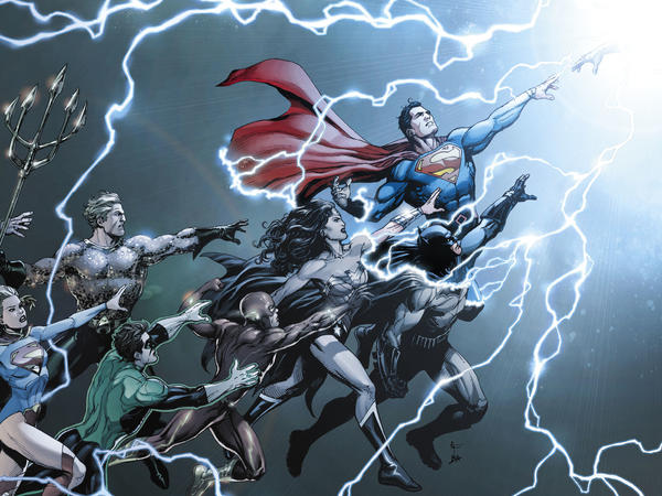 Go Into the Light: DC Comics relaunches its line of superheroes titles again. Still. Some more.