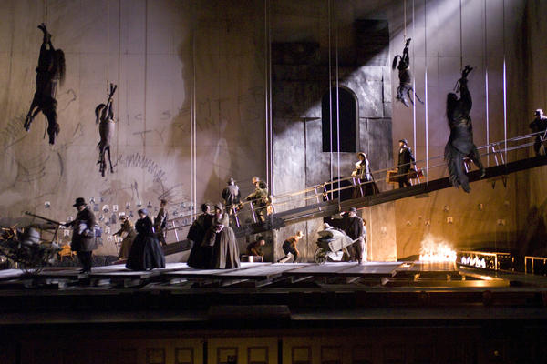 The 2007 Civil War drama <em>Appomattox</em> by Philip Glass was one of the world premieres David Gockley presented after assuming the directorship of the San Francisco Opera in 2006.