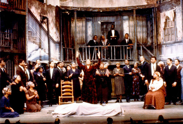 Inspired by a production he saw in Cold War East Berlin, David Gockley presented a full operatic version of Gershwin's classic <em>Porgy and Bess</em> at Houston Grand Opera in 1976. The production traveled to Broadway, where it won a Tony Award.