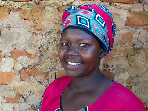 Evelyn Amony, now 33, says it took years to fully recover from her time as a captive of the Lord's Resistance Army.