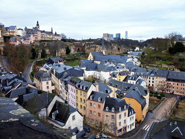 Most residents of Luxembourg city, and almost half the residents of the entire country, are non-Luxembourgers. They're mostly from other EU countries.