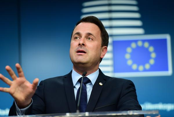 """Luxembourg's Prime Minister Xavier Bettel, shown here at a European Union summit in Brussels in December, warns that if the European Union makes too many concessions to Britain, it will weaken European integration. """"It's not a menu, a la carte, where you choose what you want to stay in the European Union,"""" he says."""