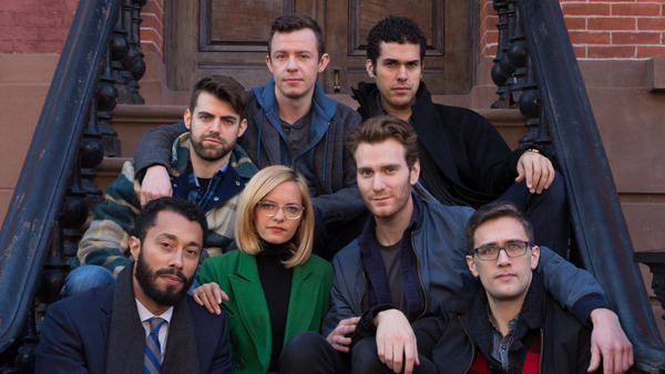 The cast of the second season of the web series <em>The Outs</em> and their stylish but affordable outerwear.