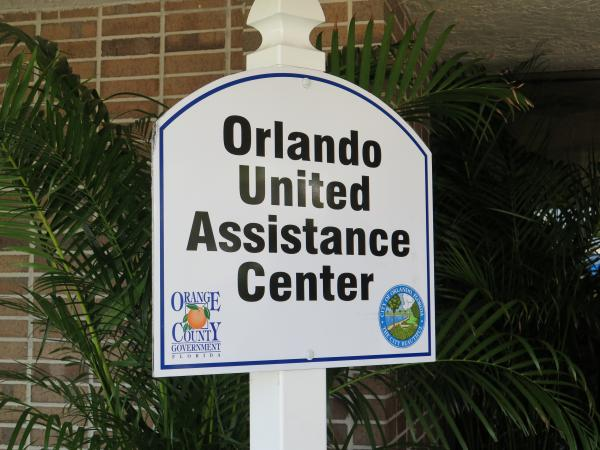 The Orlando United Assistance Center offers aid to people affected by the attack on the Pulse nightclub.