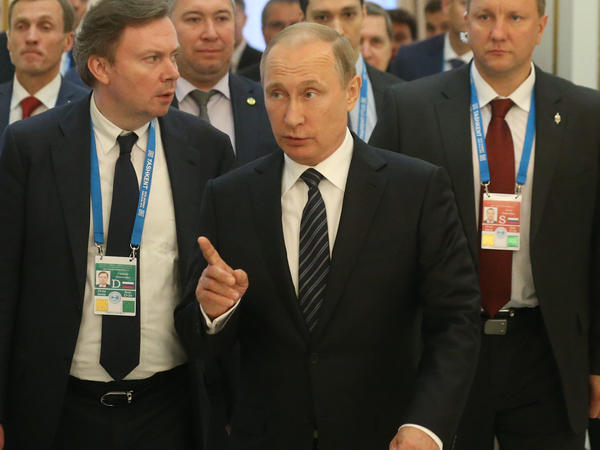 "Russian President Vladimir Putin said from the Shanghai Cooperation Organization summit in Tashkent, Uzbekistan, that Britain's decision to exit the European Union was ""comprehensible."""