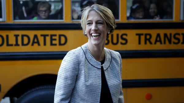 Former gubernatorial candidate Zephyr Teachout is one of several female Democratic candidates running in Tuesday's primaries.